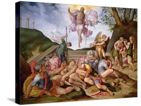 The Resurrection of Christ, Florentine School, 1560--Stretched Canvas Print