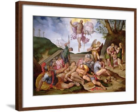 The Resurrection of Christ, Florentine School, 1560--Framed Art Print