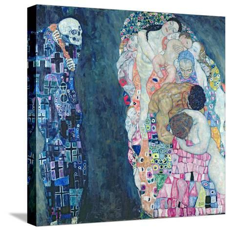 Death and Life, circa 1911-Gustav Klimt-Stretched Canvas Print