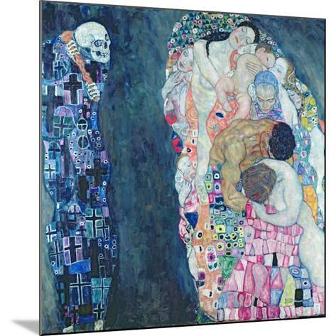 Death and Life, circa 1911-Gustav Klimt-Mounted Giclee Print