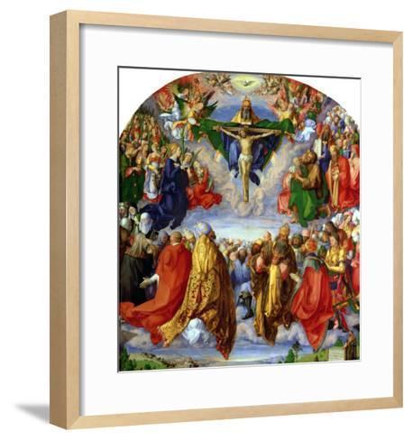 The Landauer Altarpiece, All Saints Day, 1511-Albrecht D?rer-Framed Art Print