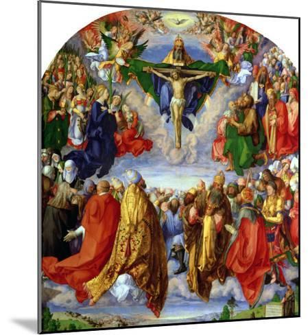 The Landauer Altarpiece, All Saints Day, 1511-Albrecht D?rer-Mounted Giclee Print