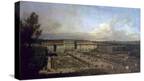 Schonbrunn Palace and Gardens, 1759/61-Bernardo Bellotto-Stretched Canvas Print
