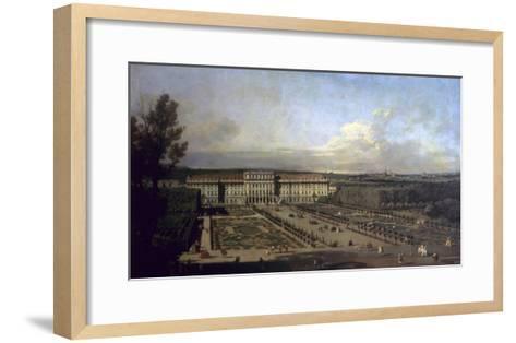 Schonbrunn Palace and Gardens, 1759/61-Bernardo Bellotto-Framed Art Print