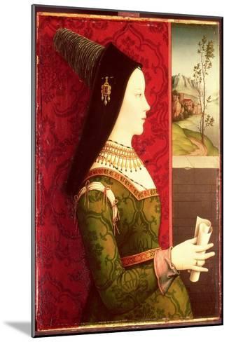 Mary of Burgundy (1457-82) Daughter of Charles the Bold, Duke of Burgundy (1433-77)-Ernst Maler-Mounted Giclee Print