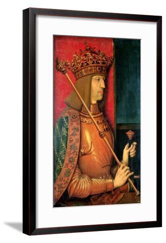 Emperor Maximilian I (1459-1519)-Bernhard Strigel-Framed Art Print
