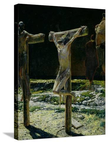 The Crucifixion, or Golgotha, 1893-Nikolai Nikolaevich^ Ge-Stretched Canvas Print