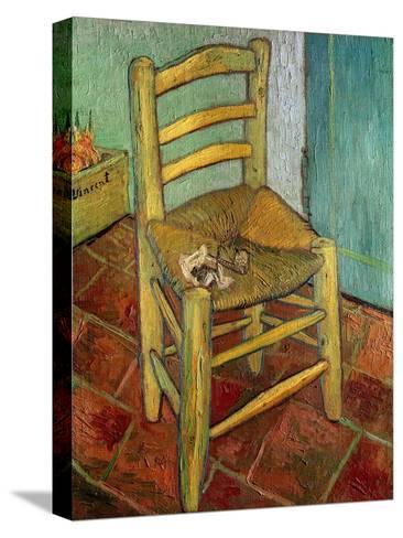 Van Gogh's Chair, c.1888-Vincent van Gogh-Stretched Canvas Print