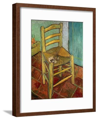 Van Gogh's Chair, c.1888-Vincent van Gogh-Framed Art Print