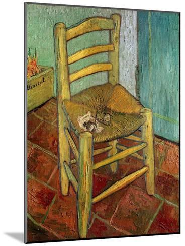 Van Gogh's Chair, c.1888-Vincent van Gogh-Mounted Giclee Print