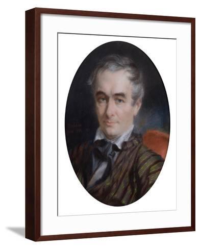 Portrait of Prosper Merimee (1803-70) 1853-Simon Jaques Rochard-Framed Art Print