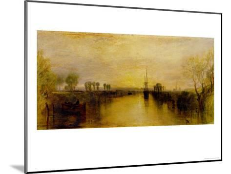 Chichester Canal, circa 1829-J^ M^ W^ Turner-Mounted Giclee Print