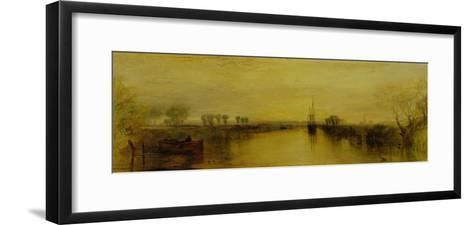 Chichester Canal, circa 1829-J^ M^ W^ Turner-Framed Art Print