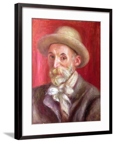 Self Portrait, 1910-Pierre-Auguste Renoir-Framed Art Print