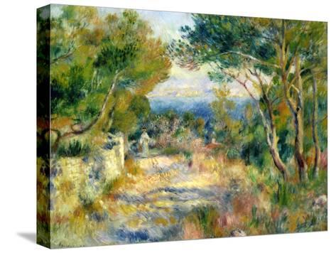 L'Estaque, 1882-Pierre-Auguste Renoir-Stretched Canvas Print