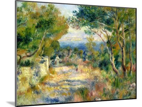 L'Estaque, 1882-Pierre-Auguste Renoir-Mounted Giclee Print