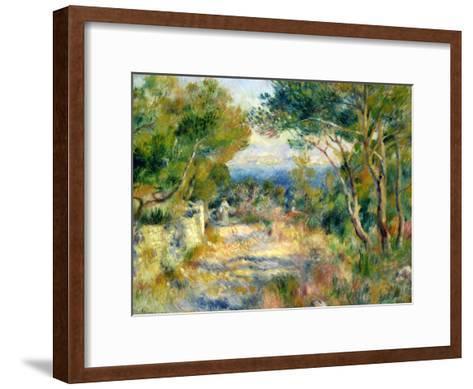L'Estaque, 1882-Pierre-Auguste Renoir-Framed Art Print