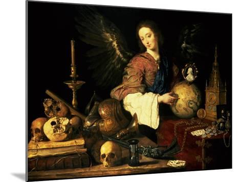 Vanitas, circa 1634-Antonio Pereda y Salgado-Mounted Giclee Print