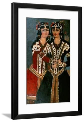 Portrait of Twins--Framed Art Print