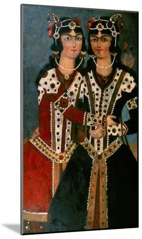 Portrait of Twins--Mounted Giclee Print