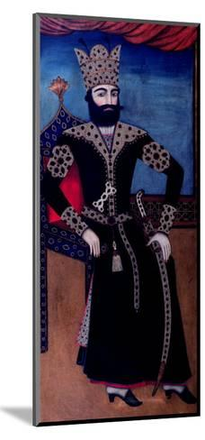 Portrait of Fath-Ali, Shah of Iran (Reigned 1797-1834)--Mounted Giclee Print
