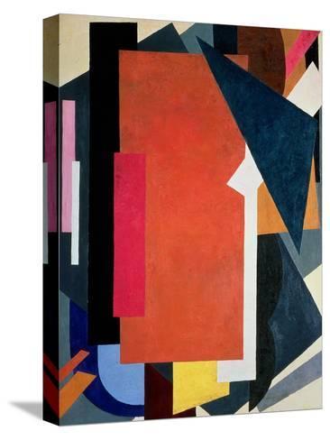 Painterly Architectonics, 1916-17-Liubov Sergeevna Popova-Stretched Canvas Print