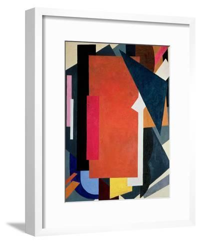 Painterly Architectonics, 1916-17-Liubov Sergeevna Popova-Framed Art Print