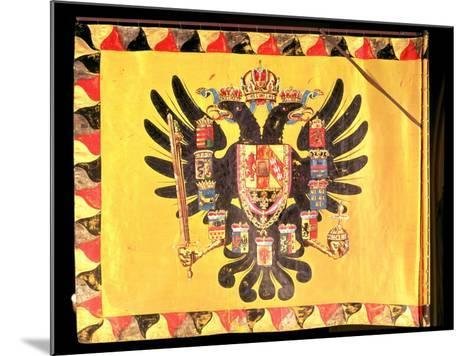 Flag of the Imperial Habsburg Dynasty, circa 1700--Mounted Giclee Print