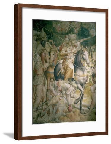Campaign of Emperor Charles V Against the Turks at Tunis in 1535-Jan Cornelisz Vermeyen-Framed Art Print