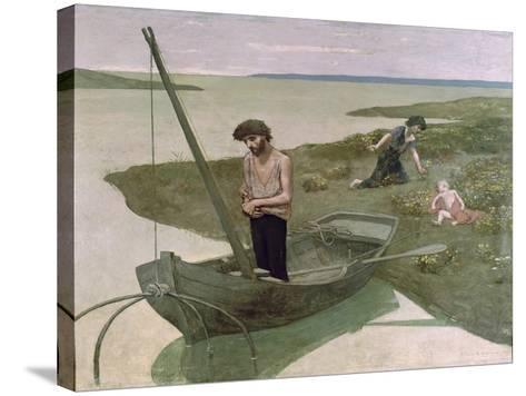 The Poor Fisherman, 1881-Pierre Puvis de Chavannes-Stretched Canvas Print