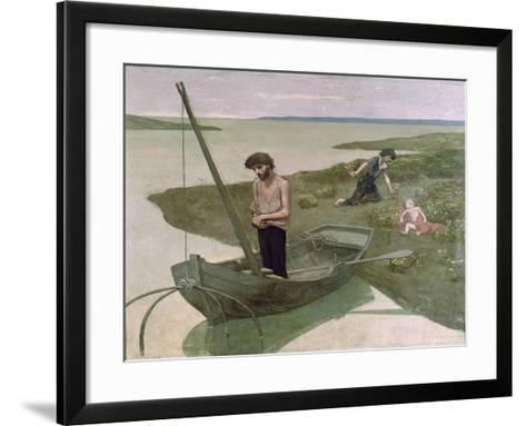 The Poor Fisherman, 1881-Pierre Puvis de Chavannes-Framed Art Print