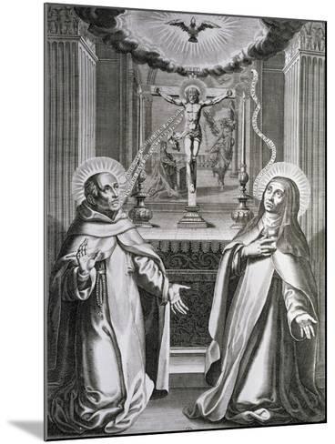 St. John of the Cross and St. Theresa of Avila--Mounted Giclee Print