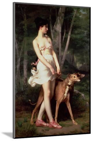 Diana the Huntress-Gaston Casimir Saint-Pierre-Mounted Giclee Print