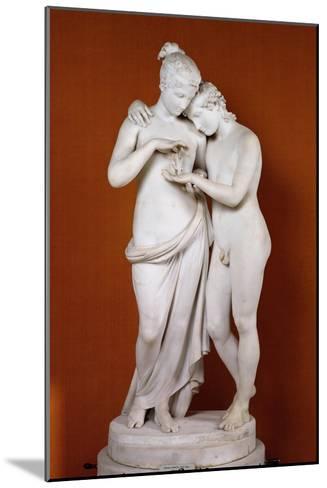 Cupid and Psyche-Antonio Canova-Mounted Giclee Print