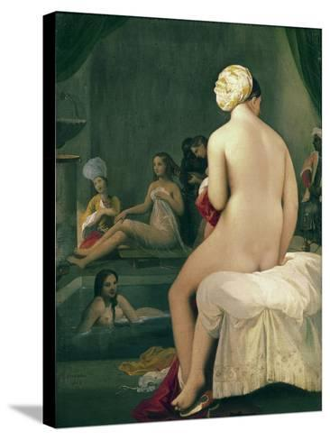 The Little Bather in the Harem, 1828-Jean-Auguste-Dominique Ingres-Stretched Canvas Print