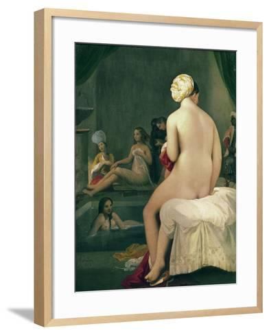 The Little Bather in the Harem, 1828-Jean-Auguste-Dominique Ingres-Framed Art Print