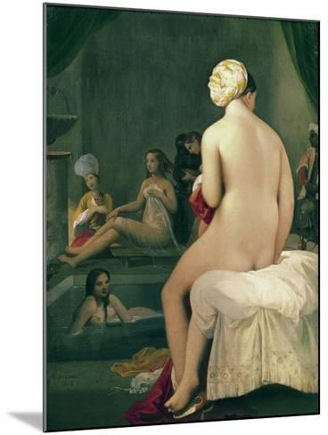 The Little Bather in the Harem, 1828-Jean-Auguste-Dominique Ingres-Mounted Giclee Print