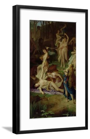 The Death of Orpheus, 1866-Emile Levy-Framed Art Print