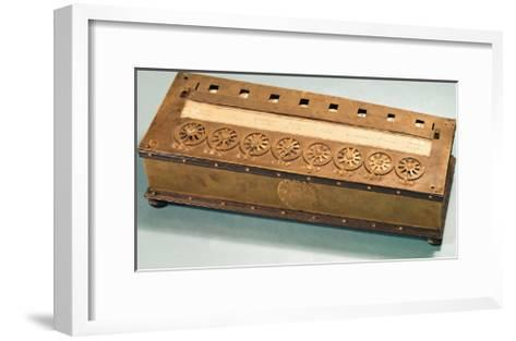 Calculating Machine Invented by Blaise Pascal (1623-62)--Framed Art Print