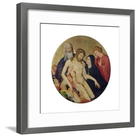 Pieta, circa 1400-Jean Maelwael-Framed Art Print