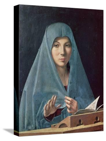 The Annunciation, 1474-75-Antonello da Messina-Stretched Canvas Print