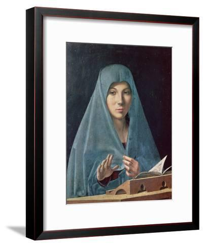 The Annunciation, 1474-75-Antonello da Messina-Framed Art Print