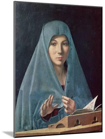The Annunciation, 1474-75-Antonello da Messina-Mounted Giclee Print