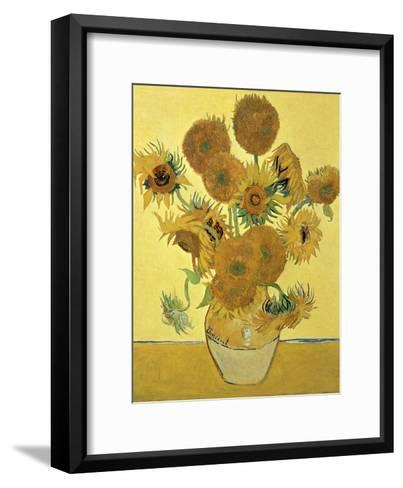Vase Of Fifteen Sunflowers C1888 Giclee Print By Vincent Van Gogh