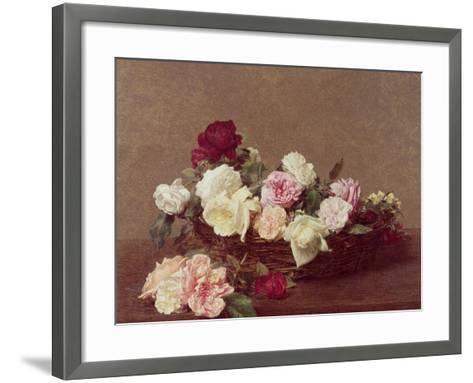 A Basket of Roses, 1890-Henri Fantin-Latour-Framed Art Print