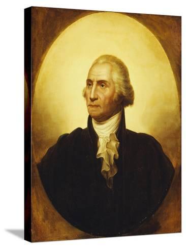 Portrait of George Washington-Rembrandt Peale-Stretched Canvas Print