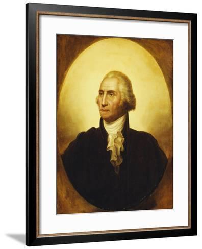 Portrait of George Washington-Rembrandt Peale-Framed Art Print