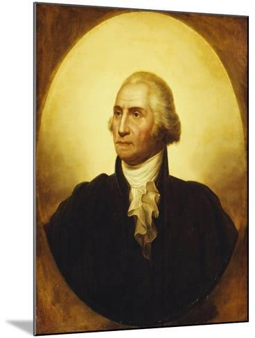Portrait of George Washington-Rembrandt Peale-Mounted Giclee Print