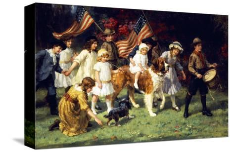 American Parade, 1917-George Sheridan Knowles-Stretched Canvas Print