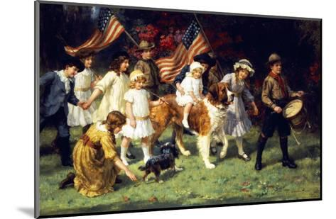 American Parade, 1917-George Sheridan Knowles-Mounted Giclee Print